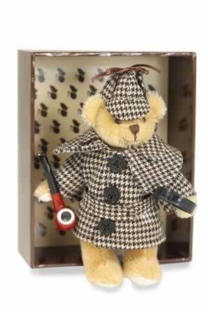 Mini Mohair Sherlock Holmes