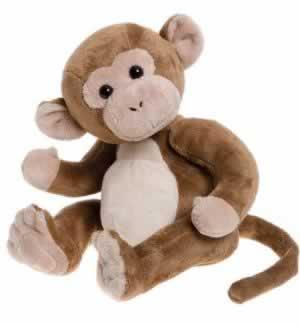 Charlie Bears Ferdinand Monkey - Baby Boutique 2016