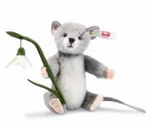 Lena Grey Mouse (006319) by Steiff