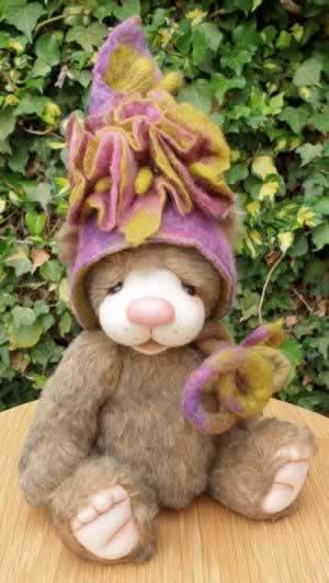 A Bear Treasures bear by Melanie Jayne McCarthy