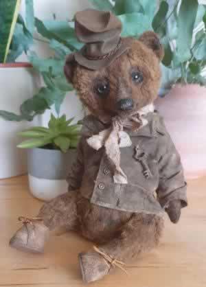 Big Teddy Boy by Leni-Dolls - reserved