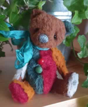 Bear 105 by Little Dipper Teddies