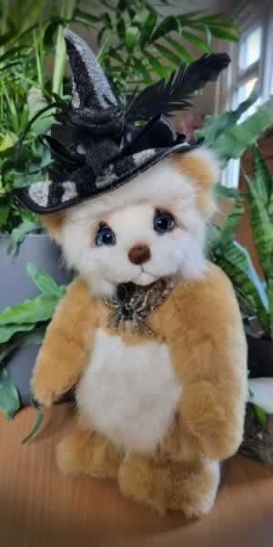 Halloween Teddy #1 by Terrie Kalaputas, Terries Bears