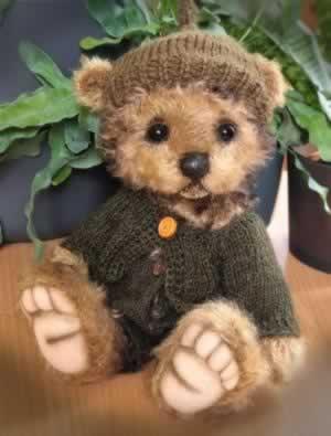 Three O'Clock Teddy Boy by Jenny Johnson - reserved